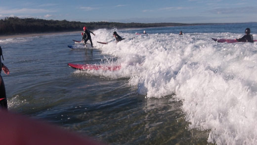 Surfing up a Storm at Cape Conran