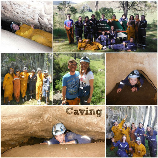 Highlights from Caving