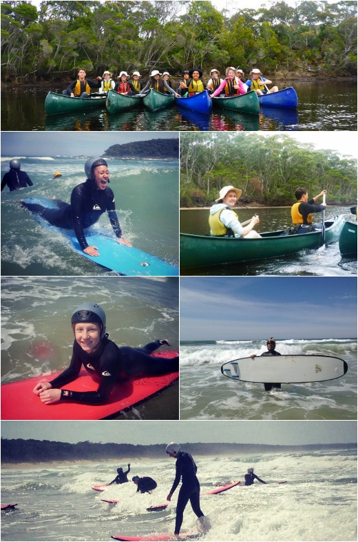 Term 4- Surfing and Canoeing