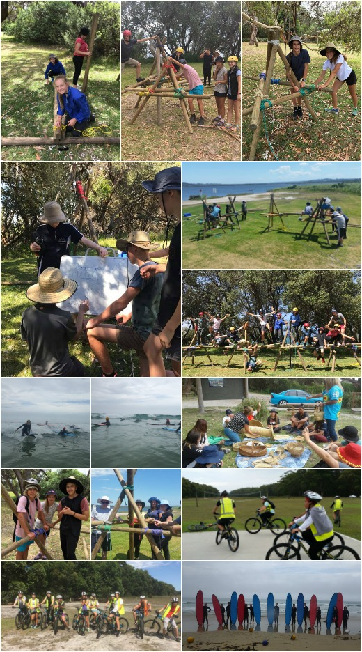 Term 1 2018 - Bridge Building, Bike Riding, Surfing and Indigenous Lesson