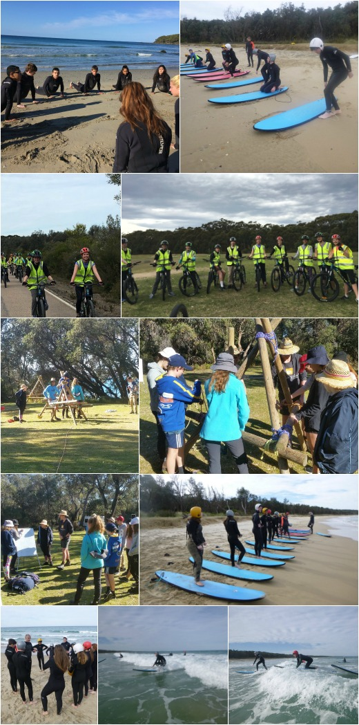 Term 3 2018 - Bridge Building, Surfing and Bike Riding